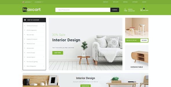 Maxcart - Multipurpose OpenCart 3 Theme