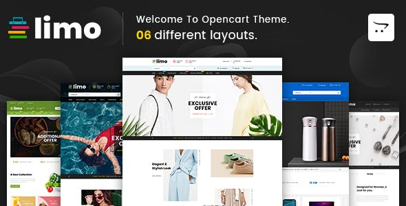 Limo - Multipurpose OpenCart 3 Theme