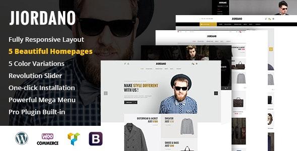 Jiordano - Responsive Fashion WooCommerce WordPress Theme - WooCommerce eCommerce