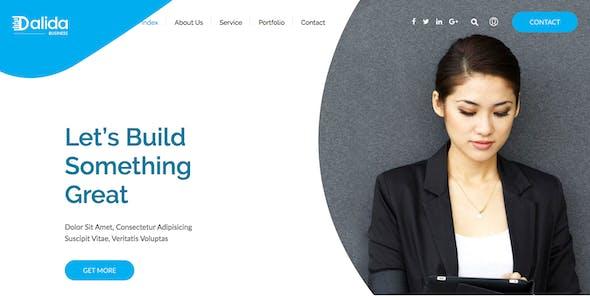 Dalida - Creative Multi-Purpose HTML Template