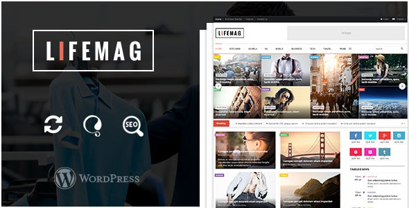 LifeMag - Responsive Magazine WordPress Theme - Blog / Magazine WordPress