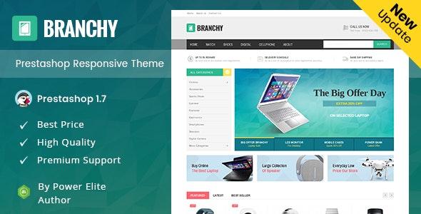 Branchy - Prestashop Responsive Theme - Shopping PrestaShop