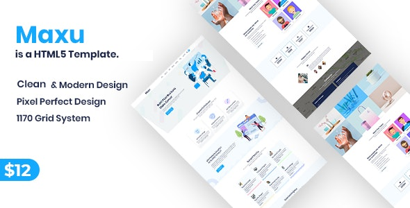 Maxu - Business HTML5 Template - Business Corporate