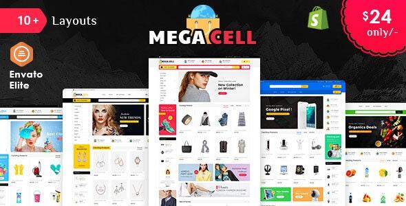 Mega Cell - Shopify Multi-Purpose Responsive Theme - Shopping Shopify
