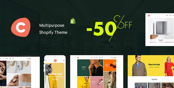 Ciao - Multipurpose Shopify Theme - Fashion Shopify