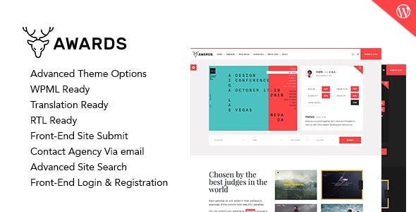 Awards - Responsive WordPress Theme