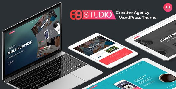 SixtyNineStudio - Creative Agency WordPress Theme - Business Corporate