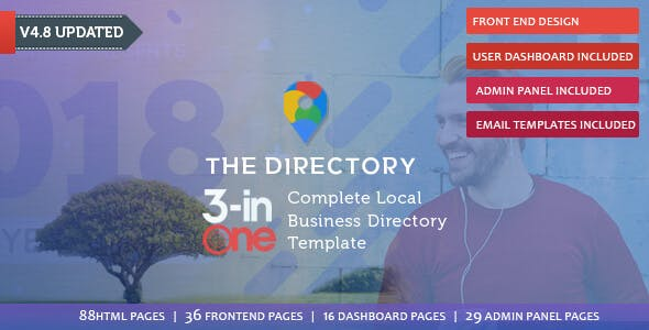 Business Directory Templates from ThemeForest
