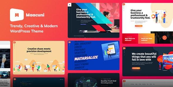 Maacuni - Multipurpose Creative Portfolio WordPress Theme - Portfolio Creative