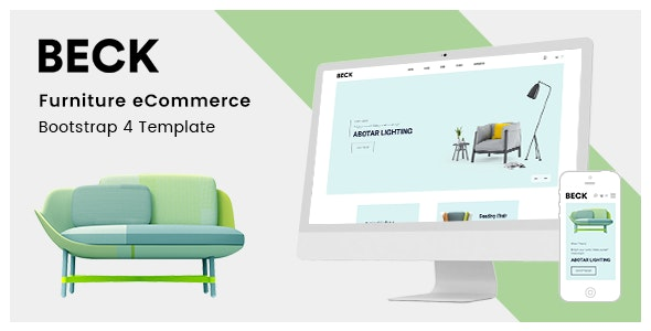 Beck – Furniture Store HTML Template - Shopping Retail