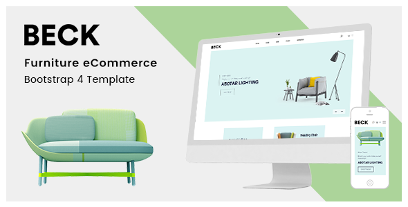 Beck Furniture Store Html Template By Codecarnival Themeforest