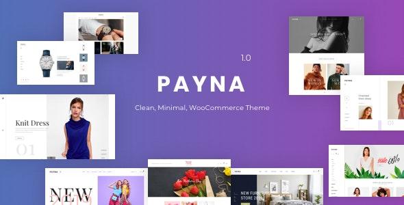 Payna - Clean, Minimal WooCommerce Theme - WooCommerce eCommerce