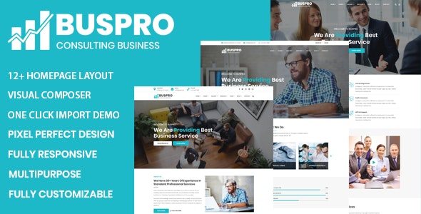Buspro - Multipurpose Business and Corporate WP Theme - Business Corporate