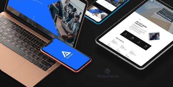 Harizma – Agency WordPress Theme - Creative WordPress