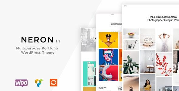 Neron - Multipurpose Portfolio  WordPress Theme - Portfolio Creative
