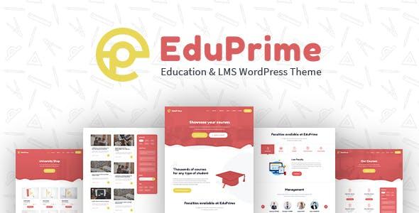 EduPrime - Education & LMS WordPress Theme nulled theme download