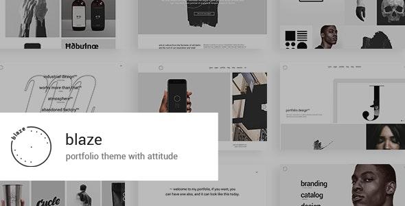 Blaze - Portfolio Theme - Portfolio Creative