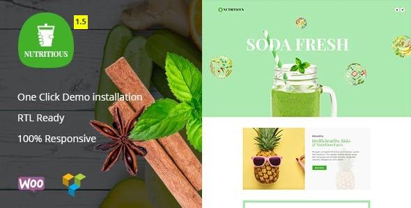 Nutritious - Vitamin Juice WooCommerce Theme - WooCommerce eCommerce