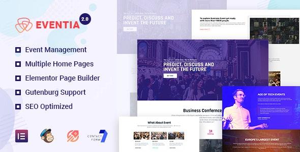 Eventia - Responsive Event WordPress Theme - Events Entertainment