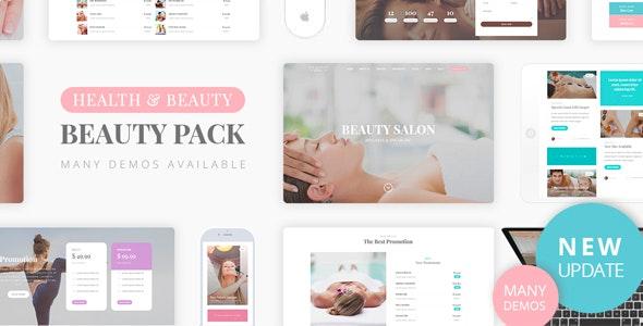 Beauty Pack - Wellness Spa & Beauty Massage Salons WP - Health & Beauty Retail