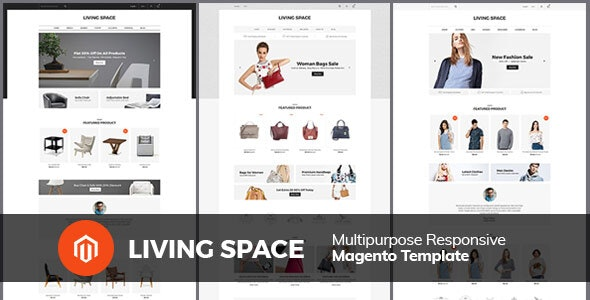 Living Space - Furniture Interior Wooden Magento 2.3 Theme - Fashion Magento