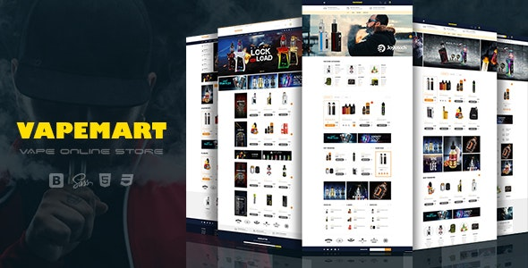 VapeMart - Electronic Cigarettes & Accessories Shopify Theme - Shopping Shopify