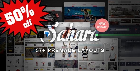 SAHARA - Responsive Magento 1 & 2 Theme - Fashion Magento