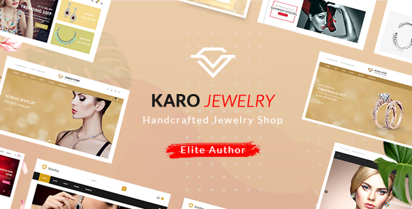 Karo | Handcrafted Jewelry WooCommerce WordPress Theme - WooCommerce eCommerce