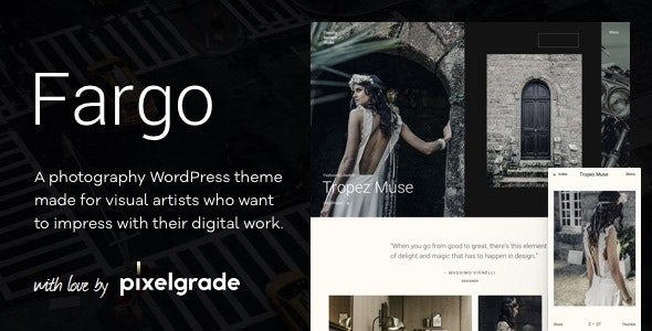 Fargo – A Charming Photography WordPress Theme - Photography Creative