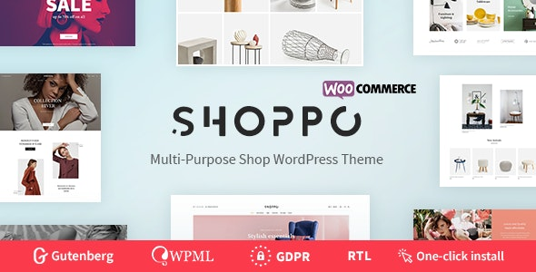 Shoppo - Multipurpose WooCommerce Shop Theme - Shopping Retail