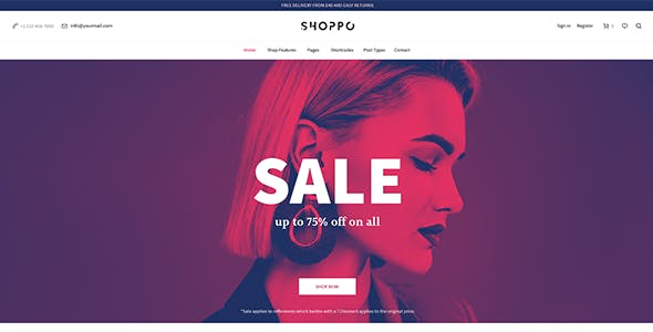 Shoppo - Multipurpose WooCommerce Shop Theme