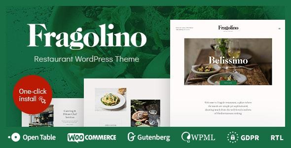 Fragolino - an Exquisite Restaurant WordPress Theme - Food Retail