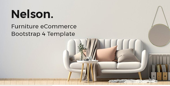 Nelson - Furniture Store eCommerce HTML Template - Shopping Retail