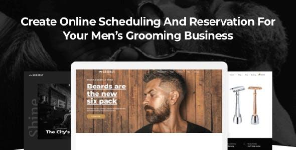 Groomly - Men's Grooming WordPress Theme
