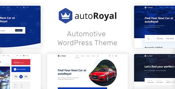 autoRoyal - Automotive WordPress Theme - Directory & Listings Corporate