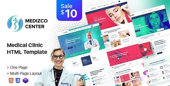 Medizco - Medical Health Dental Care Clinic Html Template