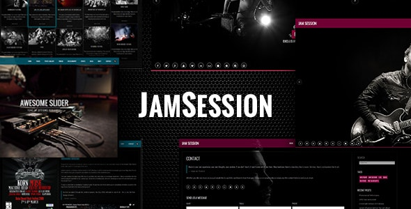 JamSession – Music WordPress Theme