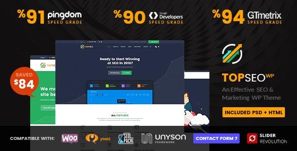 TopSEO - SEO, Digital Marketing WordPress Theme - Marketing Corporate