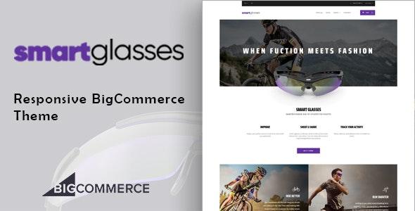 SmartGlasses - Single Product Bigcommerce Theme - BigCommerce eCommerce