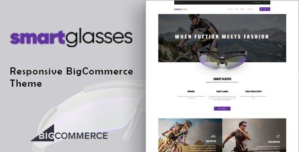 SmartGlasses - Single Product Bigcommerce Theme nulled theme download