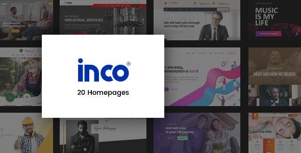 Inco – Creative Multipurpose PSD Template - Corporate PSD Templates