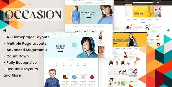 Occasion - Responsive Shopify Theme for Supermarket, Fashion