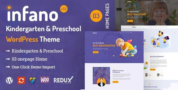 Infano - Kindergarten & Preschool WordPress Theme nulled theme download