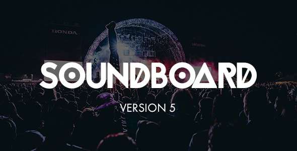Soundboard - a Premium Responsive Music WordPress Theme - Music and Bands Entertainment