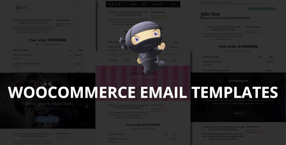 WooCommerce Email Templates - Miscellaneous Email Templates