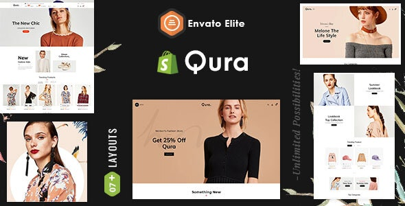 Qura - Shopify Multi-Purpose Responsive Theme - Fashion Shopify