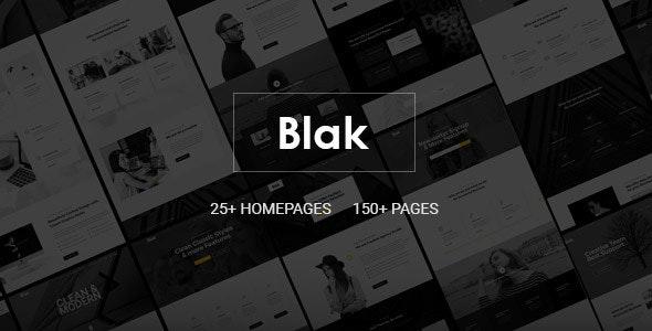 Blak - Responsive MultiPurpose Joomla Website Template With Page Builder - Business Corporate
