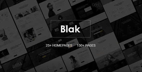 Blak - Responsive MultiPurpose Joomla Website Template With Page Builder