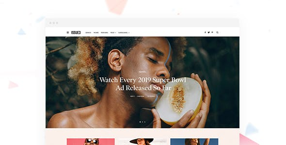 The Issue - Versatile Magazine WordPress Theme