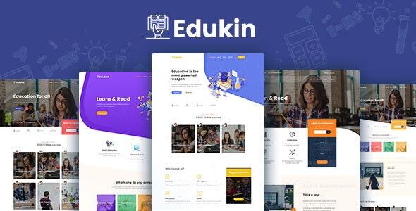Edukin - Education PSD Template - Miscellaneous Photoshop